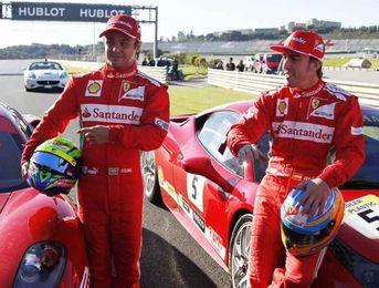 Alonso no estará en los primeros test de Jerez; Massa y De la Rosa, sí