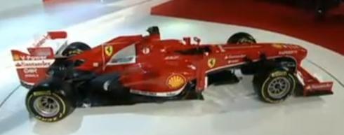 Presentación del nuevo monoplaza de Ferrari (F138).