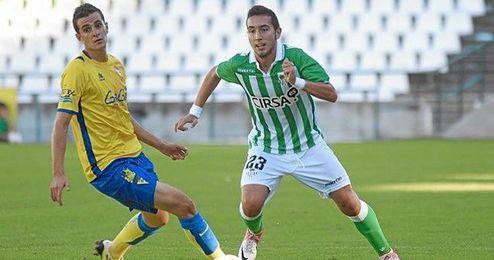 Francisco Varela, jugador del Betis B, fue convocado por Pepe Mel para el partido en el Camp Nou.