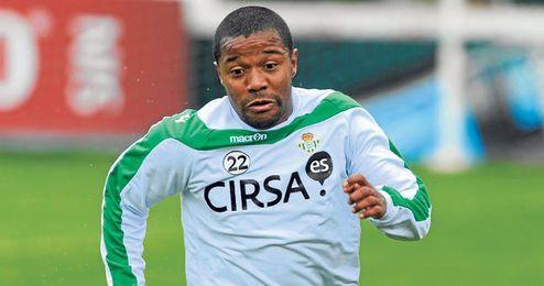 Pabón ha anotado seis goles en los trece encuentros que ha disputado con la camiseta verdiblanca.