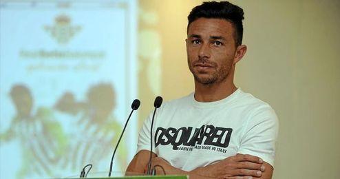 Rubén Castro ha hablado hoy con los medios tras la presentación de la aplicación oficial del club.