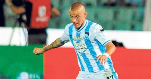 Vladimir Weiss ha sido de lo poco que se ha salvado esta campaña en el descenso del Pescara.