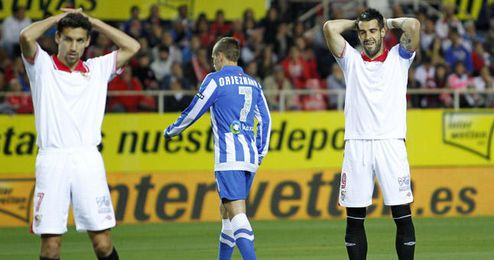 El Sevilla cierra los peores resultados del siglo XXI como visitante.