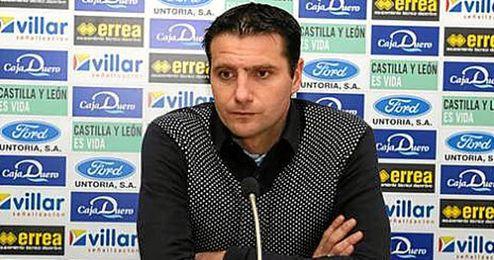 César Palacios, director deportivo del Numancia.
