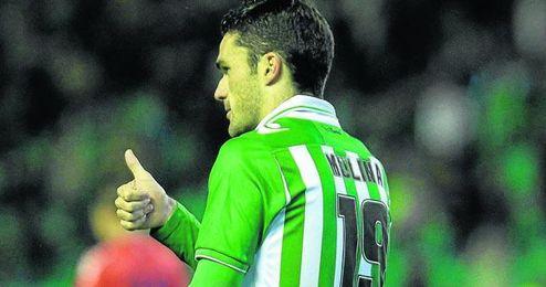 Jorge Molina renovará su contrato con el Betis esta semana.
