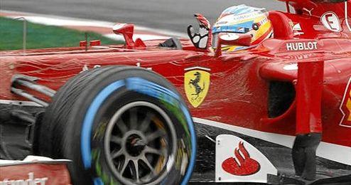 Fernando Alonso fue hoy el más rápido en Montreal.