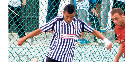 El fino extremo marchenero Gabri fue el autor del gol mairenero ante el Olot.