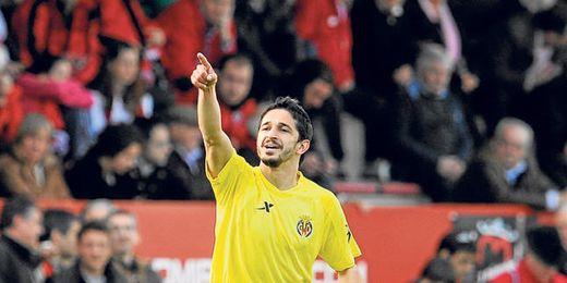 Jonathan Pereira, autor del gol del ascenso del Villarreal a Primera.