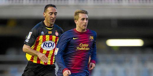 Gerard Deulofeu saldrá del Barça cedido y tiene muchos pretendientes.