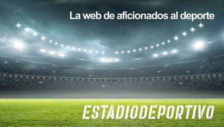 Beñat celebra un gol con la elástica verdiblanca.