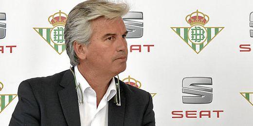 Miguel Guillén, presidente del Betis, interesado en Bojan