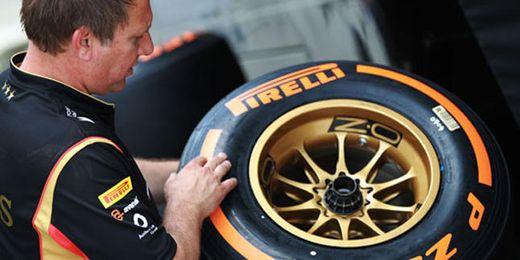 Neumáticos Pirelli de compuesto duro, llevados a Silverstone