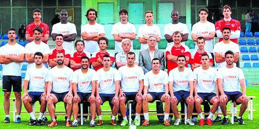 El Alcalá 12/13 en la foto oficial de la pasada temporada; el proyecto 13/14 aún no ha arrancado.