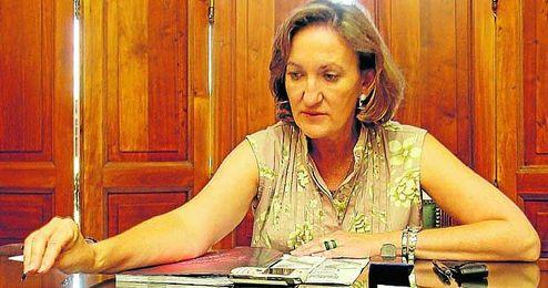 María del Mar Sánchez, delegada de Deportes.
