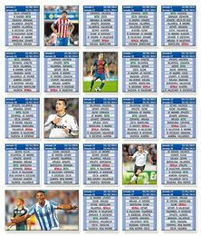 Calendario de la Liga 2013/14