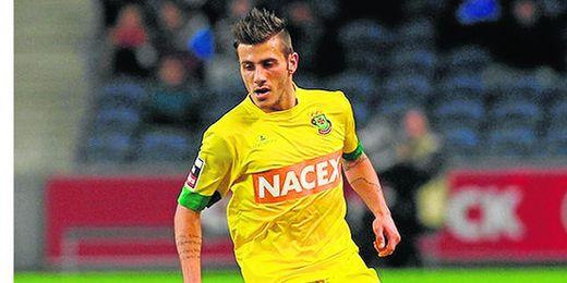 Diogo José Rosário Gomes Figueiras, de 22 años, ha disputado 21 encuentros en la pasada liga portuguesa.