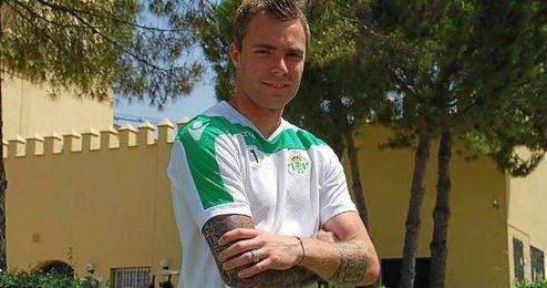 Andersen posa para ESTADIO durante la concentración en Montecastillo.