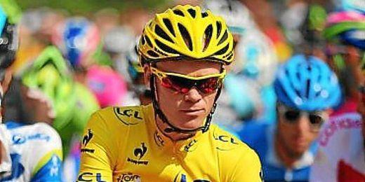 Froome durante el Tour de Francia