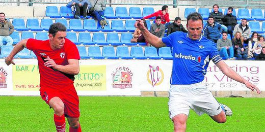 Óscar Rodríguez Antequera, producto de la cantera del Sevilla, llegó en 2008 al Écija desde el Portuense.
