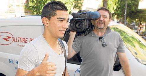 Lolo Reyes, feliz por el resultado