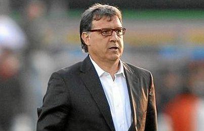El nuevo técnico del F.C. Barcelona, ´Tata´ Martino.