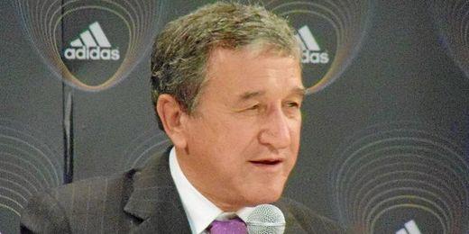 Parreira, Director Técnico de la selección brasileña.