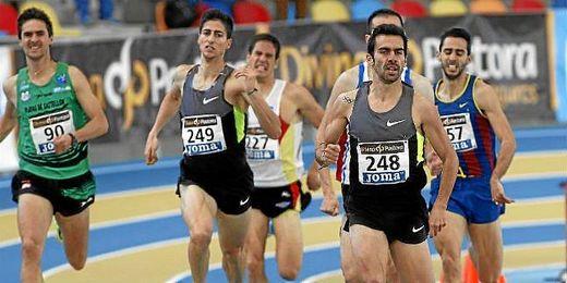 Kevin López. nuevo campeón de España de 800 metros lisos.
