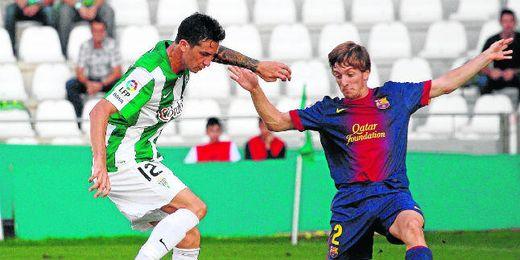 Rennella jugó en el Córdoba la temporada pasada.