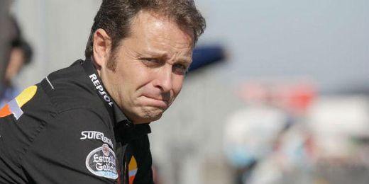 Emilio Alzamora, jefe de equipo de Moto3.