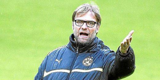 Jurgen Klopp, entrenador del Borussia Dortmund