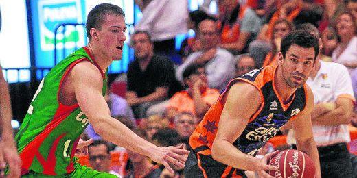 Los pupilos de Aíto se mostraron muy por debajo del juego desplegado por el Valencia Basket.