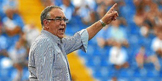 Quique Hernández durante el partido de la Liga Adelante que enfrentaba al Hércules contra el Zaragoza.