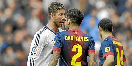 Ramos y Alves se encaran en el clásico de la temporada pasada.