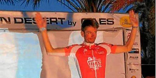 Luis Leao Pinto, ganador de la Titan Desert 2013.