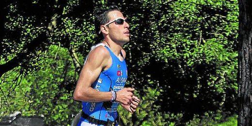 El triatleta sevillano Samer Ali Saad, en una imagen de archivo.