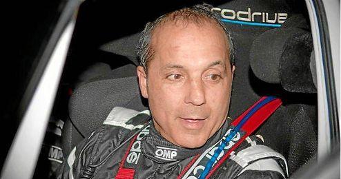 El piloto durante la XXXVII edición del Rally Islas Canarias.