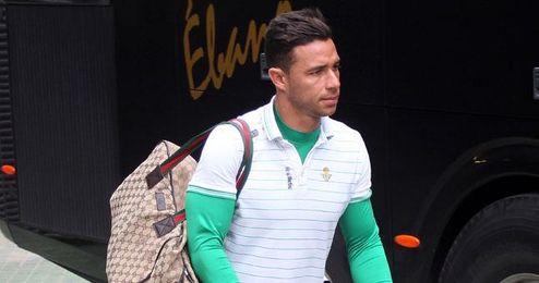 Rubén Castro espera poder pronto comenzar la rehabilitación.
