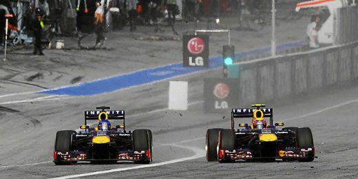 Los dos Red Bull siguen volando en Japón.