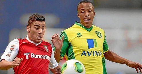 Salvador Agra llegó cedido por el Betis al Sporting de Braga el pasado verano pero no ha terminado de cuajar.