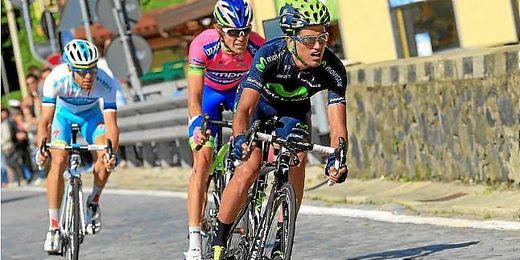 Intxausti en el Giro de Italia 2013.