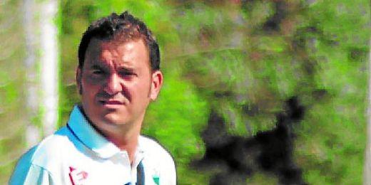 Fran Reina, entrenador del Pedrera.