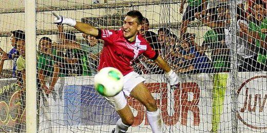 El guardamenta, Sergio Sanz, fue el héroe en la eliminatoria de Copa ante La Hoya.