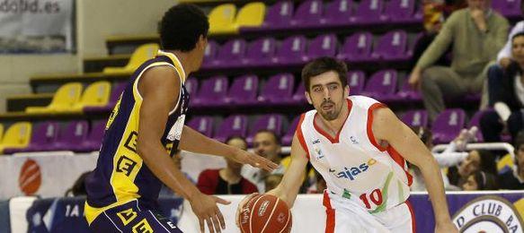 Franch, en el último partido Valladolid-Cajasol.