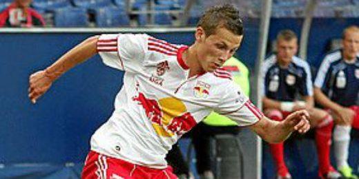 Savic en un partido con el Salzburgo.