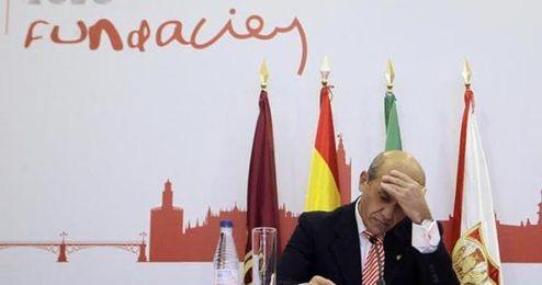 Del Nido, criticado por su acto de despedida.