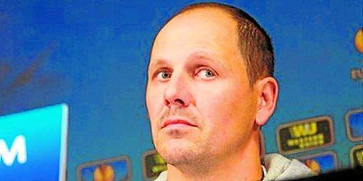 En la imagen, Ante Simundza, técnico del Maribor esloveno.