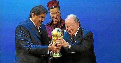 Qatar fue el elegido para albergar el Mundial de 2022.
