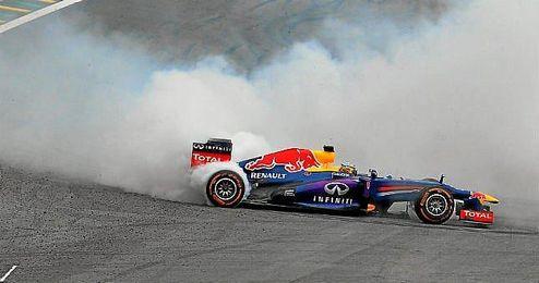 La FIA permitirá los trompos para el ganador de la carrera Vettel