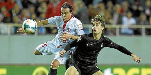 La victoria sobre la Real Sociedad ha servido para que el Sevilla se asiente en la séptima plaza del campeonato.