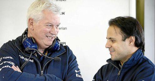 Symonds se muestra encantado con la llegada de Massa a Williams.